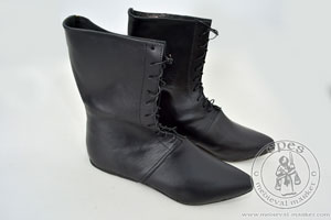 In stock - Medieval Market, High lace-up boots - different soles