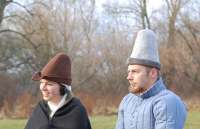 In stock - Medieval Market, Hand felted hats