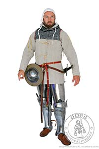In stock - Medieval Market, Front view of medieval gambeson for HMBIA