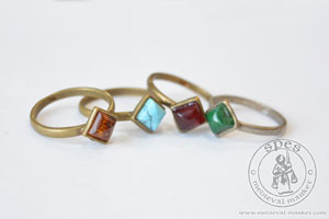 In stock - Medieval Market, ring type 2